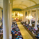 Congregation during 250th anniversary year (2015) mass.